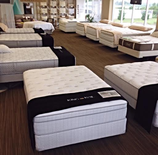 stop in today and try out our firm plush and pillow top mattresses therapedic logo
